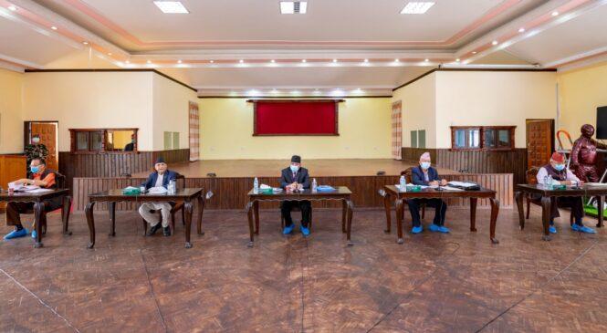 नेकपा सचिवालय बैठकको पूर्वतयारीः दुवै पक्षको अन्तिम रणनीति बन्दै