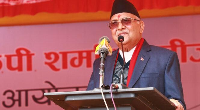 बिएन्डसीलाई मेडिकल कलेजको सम्बन्धन काठमाडौं विश्वविद्यालयले दिँदै छ : प्रधानमन्त्री ओली