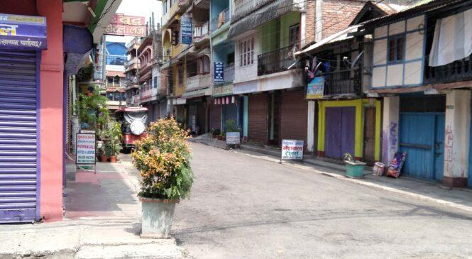 निषेधाज्ञाको दोस्रो दिन पूर्वी नाका काँकरभिट्टा ( फोटो फिचर)
