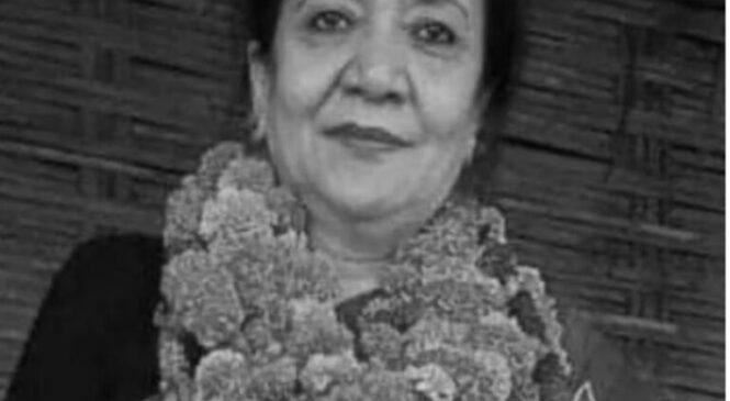 कोरोनाबाट काँग्रेस उपसभापति गच्छदार पत्नीको निधन